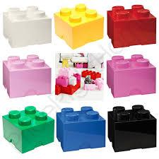 Kinder Schlafzimmer Farbe Lego Aufbewahrung Ziegel Kiste 4 Knöpfe Kinder Kinder Schlafzimmer