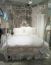 Shabby Chic White Bed Frame by 23 Amazing Tree Bed Frame Designs That Will Enchant You