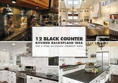 Black Countertop Backsplash Ideas Backsplashcom Kitchen - Backsplash for black granite