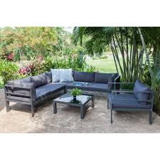 canapé d angle jardin salon de jardin mojito 1 canapé d angle réversible modulable 1