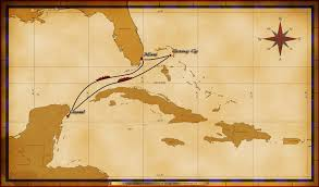Pirates Of The Caribbean Map by Personal Navigators 5 Night Western Caribbean Cruise On Disney