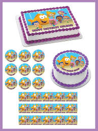 guppies cake toppers guppies 2 edible cake and cupcake topper edible prints on