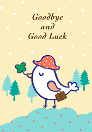 printable greeting cards free printable goodbye and luck greeting card littlestar