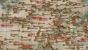 Giant Map Image Giant Camps Png Elder Scrolls Fandom Powered By Wikia