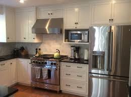 Microwave Kitchen Cabinets Best 20 Microwave Shelf Ideas On Pinterest Open Kitchen