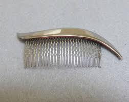 vintage comb vintage hair comb etsy