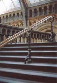 Brass Handrails Brass Handrails For Stairs Brushed Metal Stairway Railing