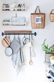 Ideas For Decorating Kitchen Walls Best 25 Kitchen Wall Storage Ideas On Pinterest Kitchen Storage