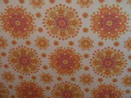 house textures textures and surfaces wallpaper 60s 70s yellow orange floral