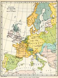 Map Of Europe 1500 by History Map Archive 1501 1600