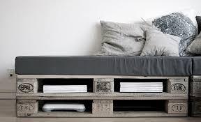 canapé lit palette canapé palette recup upcycling les choses simples