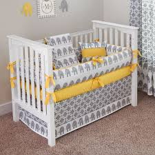 Grey And White Crib Bedding Wonderful Yellow And Grey Crib Bedding Yellow And Grey Crib