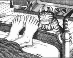 kliban cat print etsy