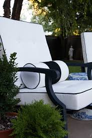 White Patio Cushions by Outdoor Cushions With Custom Details The Makerista