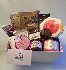 canadian gift baskets win with niche magazine jule s baskets a canadian gift basket