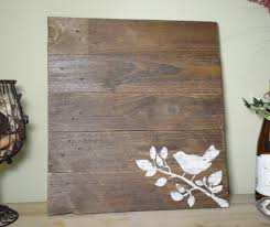 bird reclaimed wood wall another rinse