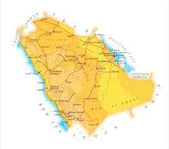 Arabian Peninsula Map Saudi Arabia Map