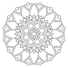 printable 45 simple mandala coloring pages 5464 simple mandala