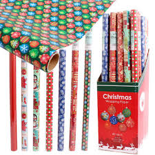 wholesale christmas wrapping paper wholesale christmas gift wrap display asst 40 sq ft item 82406x