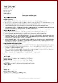 15 good resume examples for college students sendletters info