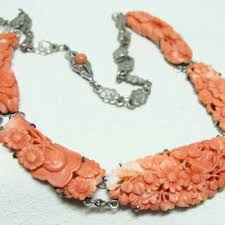 coral necklace antique images Antique and vintage coral jewelry collectors weekly jpg