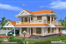 beautiful 2 storey house design 2490 sq ft home two storey house