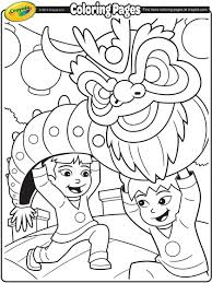 chinese coloring pages young children celebrate chinese