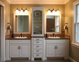 mirrored bathroom vanity with sink bathroom decoration