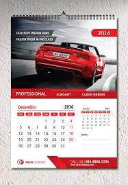 2016 wall calendar template by percetakan graphicriver