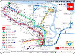 Transport Map Gdansk Transport Map
