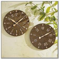 Outdoor Pedestal Clock Thermometer Outdoor Pedestal Clock And Thermometerhome Design Galleries