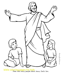 Bible Coloring Pages For Kids With Free Printable Christian Free Printable Christian Coloring Pages