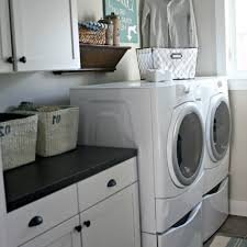 Laundry Room Decorating Ideas by Home Design 10 Clever Storage Ideas For Your Tiny Laundry Room