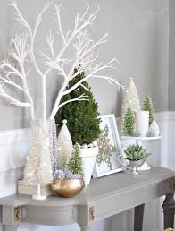 Elegant Christmas Decorations Office by Best 25 White Christmas Decorations Ideas On Pinterest White