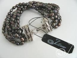 black pearl bracelet images Kelly black pearl bracelet pearl bracelets jpg