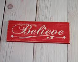 believe sign etsy
