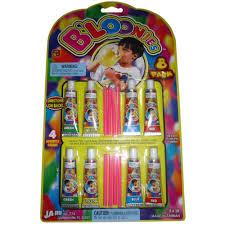 b loonies plastic balloons variety pack 8 of