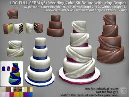 wedding cake kit second marketplace ldg perm 961 wedding cake kit