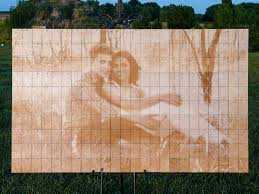 engravable wedding guest book alternative wedding guest book photo peg board with laser