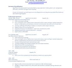 summary for resume summary in resume exles customer service of qualifications
