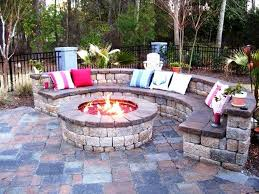 backyard firepit ideas home fireplaces firepits backyard