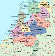 world map by cities detailed administrative map of netherlands with major cities