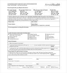 Resume For Medical Records Sample Medical Records Release Form Media Release Form Template