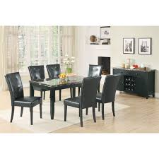 coaster furniture 102795 anisa dining server with wine rack in