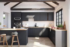 grey kitchen cabinets b q kitchens black navy and grey kitchen ideas
