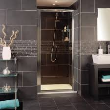 pivot shower doors and pivot hinged door enclosures roman showers