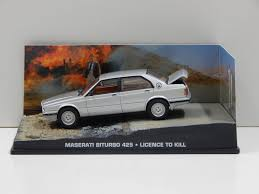 maserati biturbo sedan 1 43 maserati biturbo 425 james bond licence to kill universal