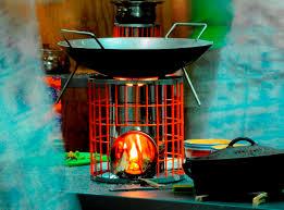 rocket works gasifying rocket stove highly efficient wood