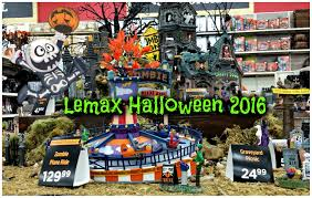 dept 56 halloween sale lemax spooky town at michaels halloween 2016 youtube