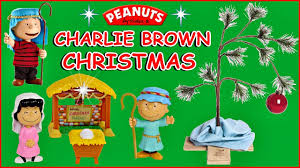 peanuts brown christmas peanuts christmas unboxing episode opening peanuts nativity